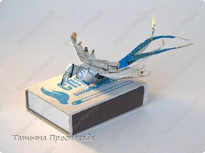 Мастер-класс Поделка изделие Плетение Плетёные птички Бумага фото 25