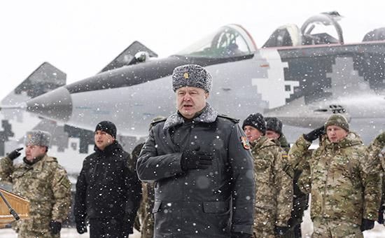 На украинском ТВ обвинили Порошенко в отторжении Донбасса