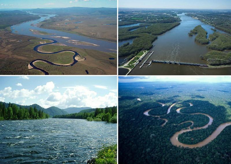 Самые грандиозные реки нашей планеты(11 фото)