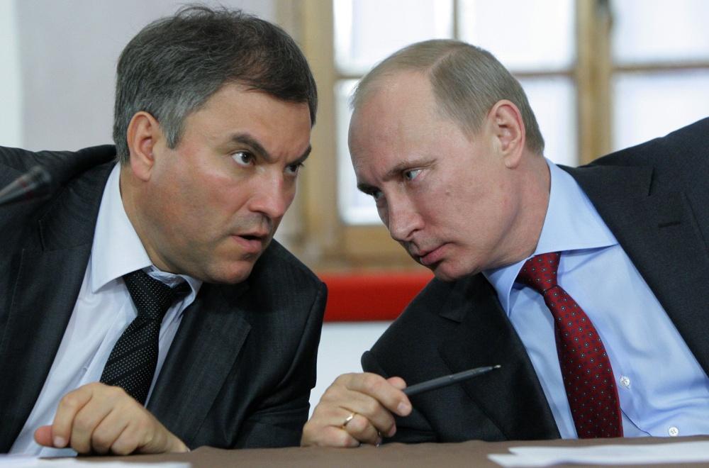 Вячеслав Володин рассказал, кого видит президентом России