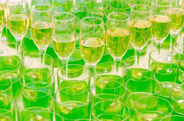 Шампанское с киви