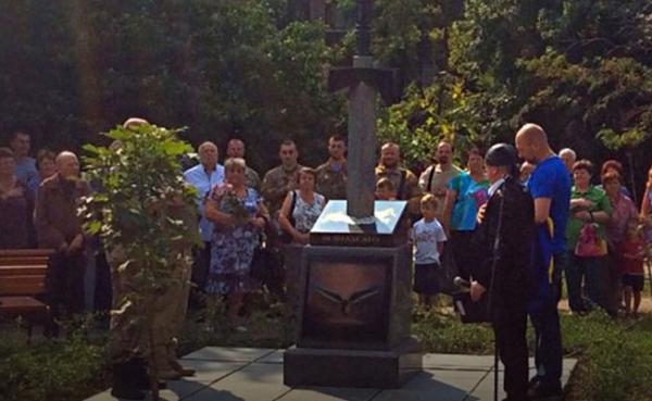 Про новый памятник в Киеве....или мелкие воришки