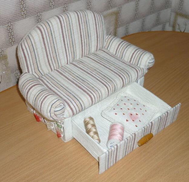 Кресло своими руками для кукол