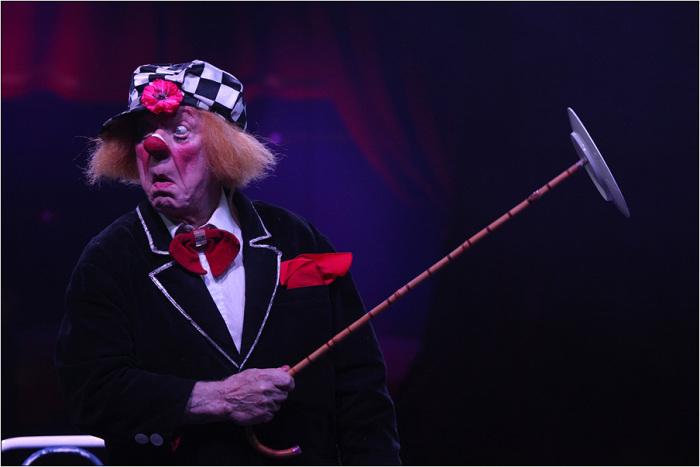 Клоуны не стареют: 20 фотографий «солнечного» клоуна Олега Попова, который выходит на манеж в 85 лет