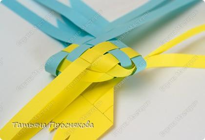 Мастер-класс Поделка изделие Плетение Плетёные птички Бумага фото 17