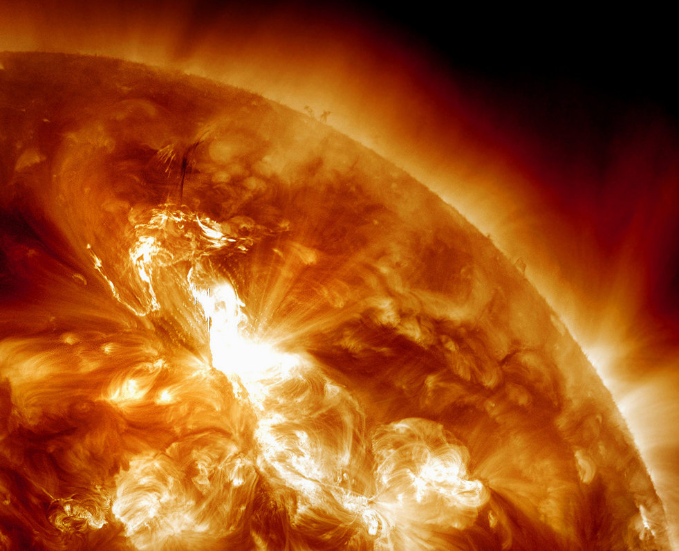 NASA  Solar Storm Warning