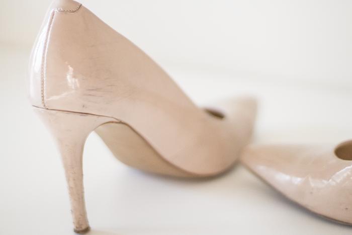 """Французский способ """"реставрации"""" лаковой обуви"""