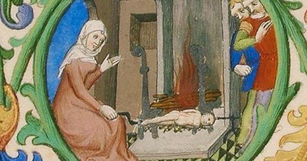 Соль, розы, паштет из заячьих мозгов и другие удивительные факты по уходу за младенцем в Средневековье