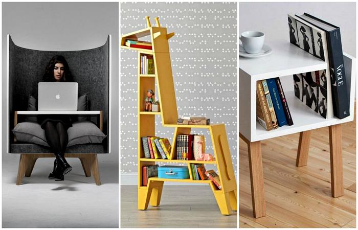 С шармом и креативом: 18 исключительных предметов мебели, которым будут завидовать все друзья и соседи