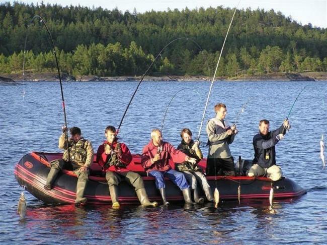 Рыбалка пуще комфорта