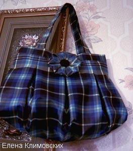 Если сломался зонтик,  сшейте из него сумку!