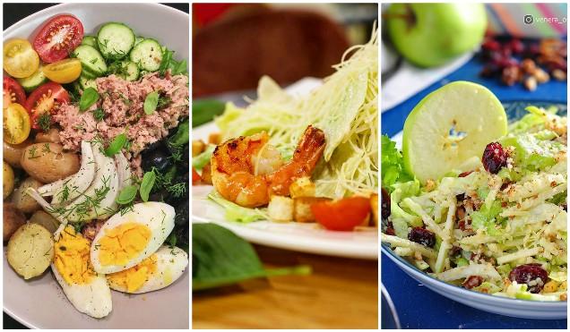 Топ-3 самых известных салатов мира: Нисуаз, Вальдорф, Цезарь с креветками