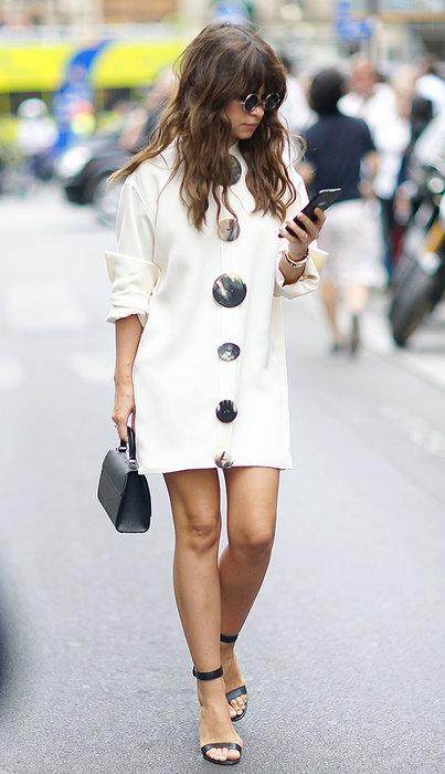 модное платье рубашка счем носить 2016