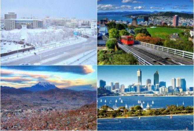 9 самых экстремальных городов мира.