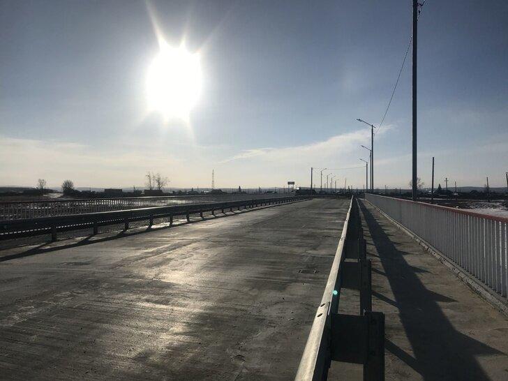 Новый мост через реку Хилок открыли в Забайкалье Хорошие, добрые, новости, россия, фоторепортаж