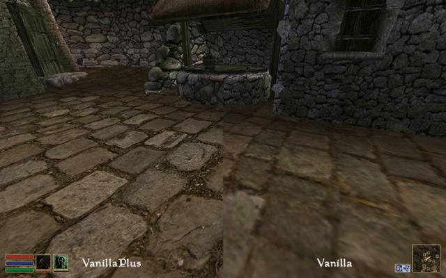 Модер выпустил для Morrowind набор текстур высокого разрешения