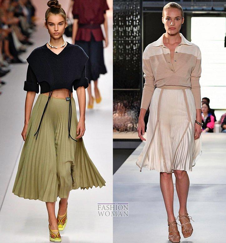 Модные юбки весна-лето 2019 фото №1