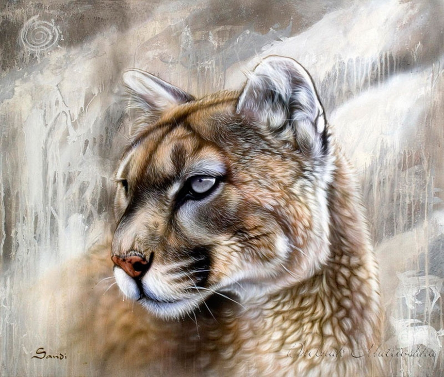 Awesome realistic drawings of animals 24