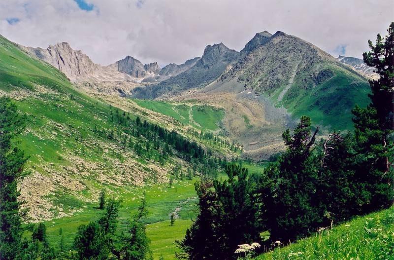 Катунский биосферный заповедник, Алтай, Россия