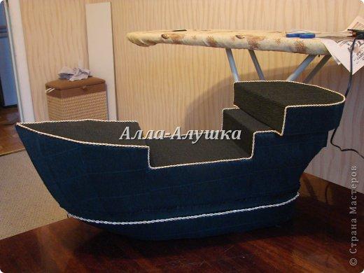 Корабль из картона своими руками мастер класс