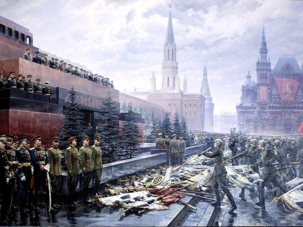 Мавзолей — это символ Победы в Великой Отечественной войне