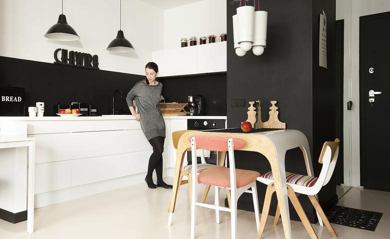 Квартира с идеями: студия 43 кв. м. для архитектора