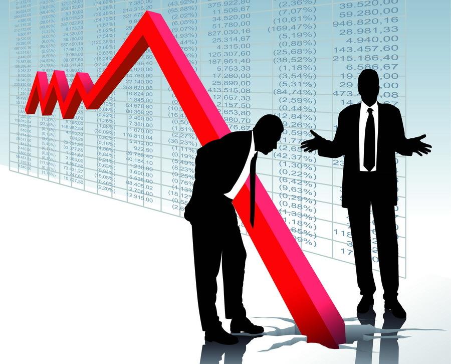 Экономика США: из стагнации — в падение