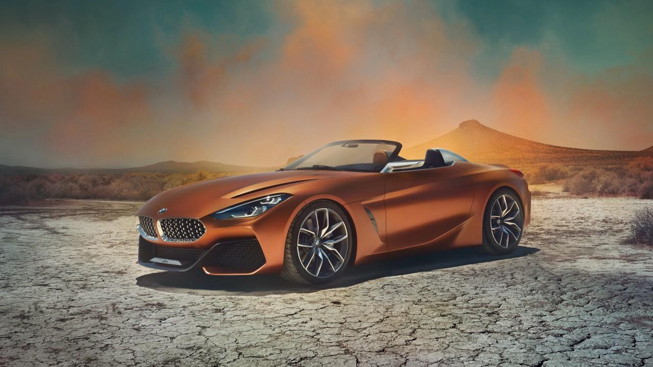 Новый Z4: официальные фото очень красивого BMW