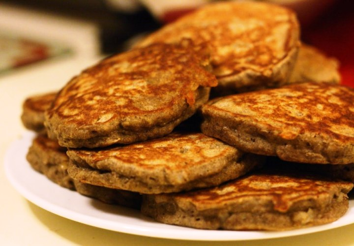 Вкусные и полезные оладьи из сваренной гречки
