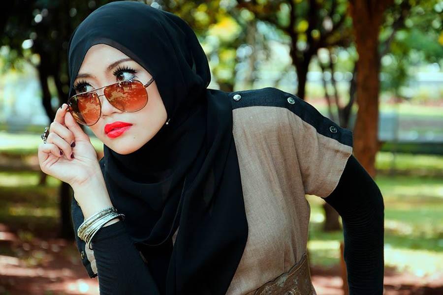 Красота мусульманской жены