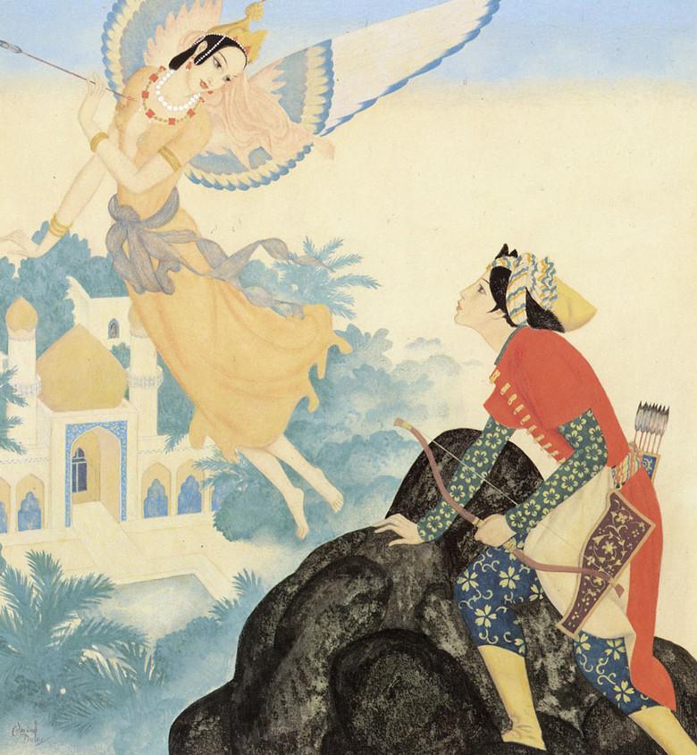 Пери - прекрасные эльфоподобные духи-любовники в легендах народов Средней Азии