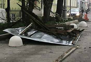 Спасатели рассказали об обстановке в Москве после урагана