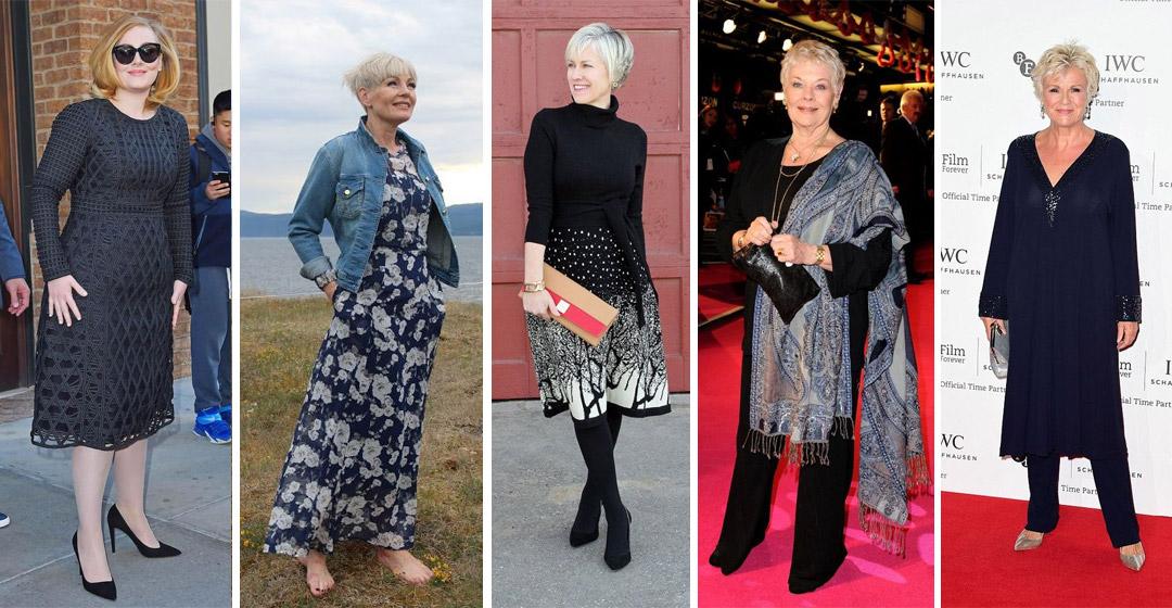 Модные женщины после 40-50 лет: как выбрать платье, юбку или брюки