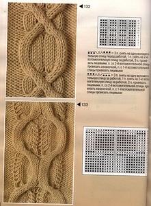 193 узора спицами от Burda