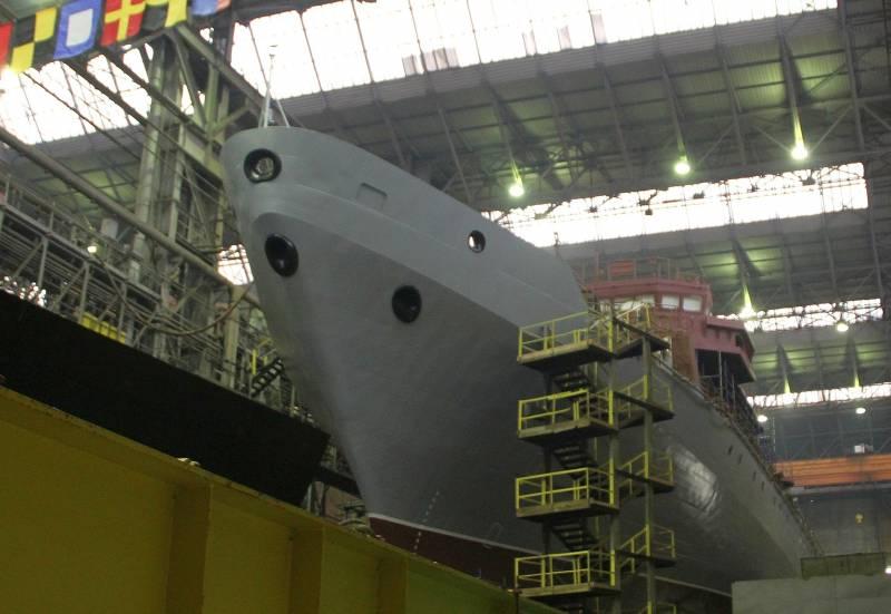 Спуск на воду «Ивана Хурса» запланирован на июль текущего года