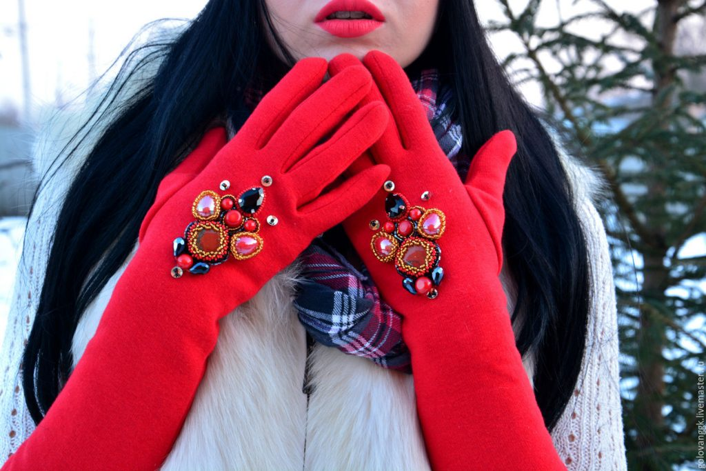 Женские перчатки: осень-зима 2017-2018
