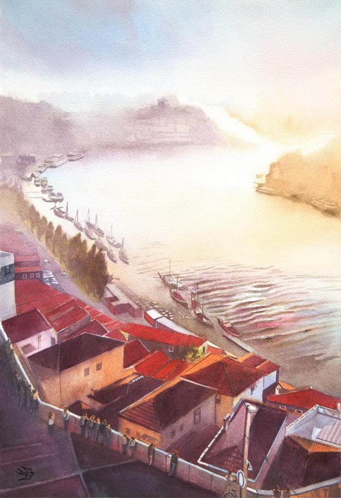 Португалия в рисунках Виктор…