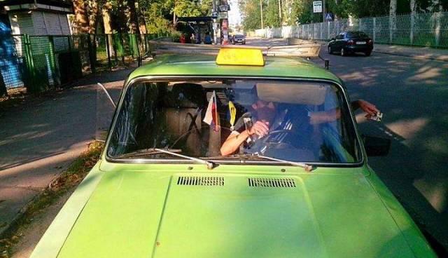 Украинский таксист высказал,…