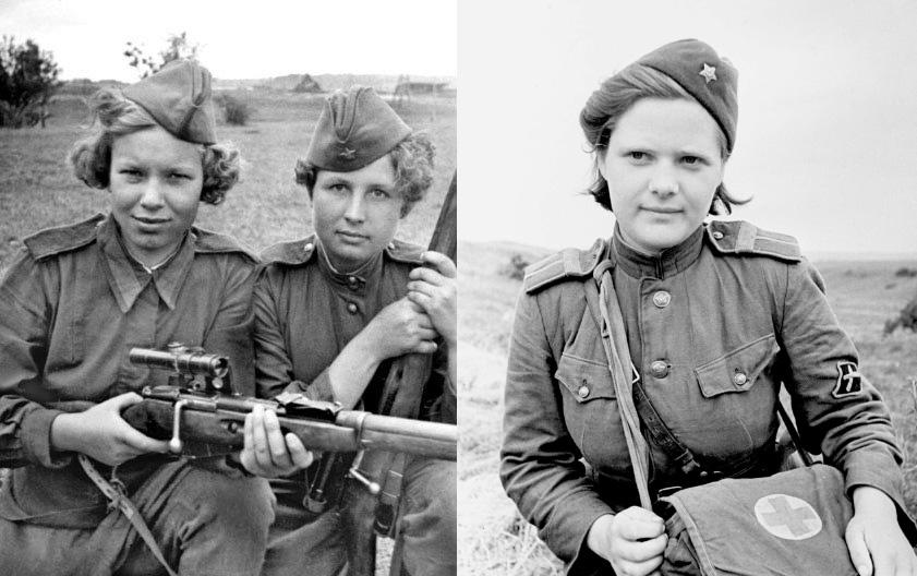 Женщины на войне: правда, о …