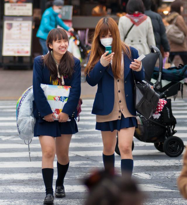 Японки против колготок. | Фото: Bada.Net.Ru.