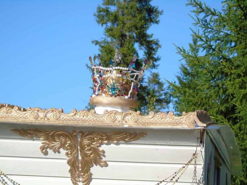Декор потолочных плиток