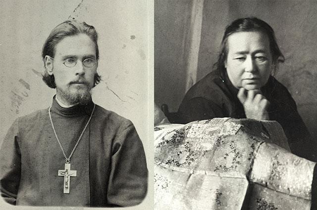 Родители Варлама Шаламова.