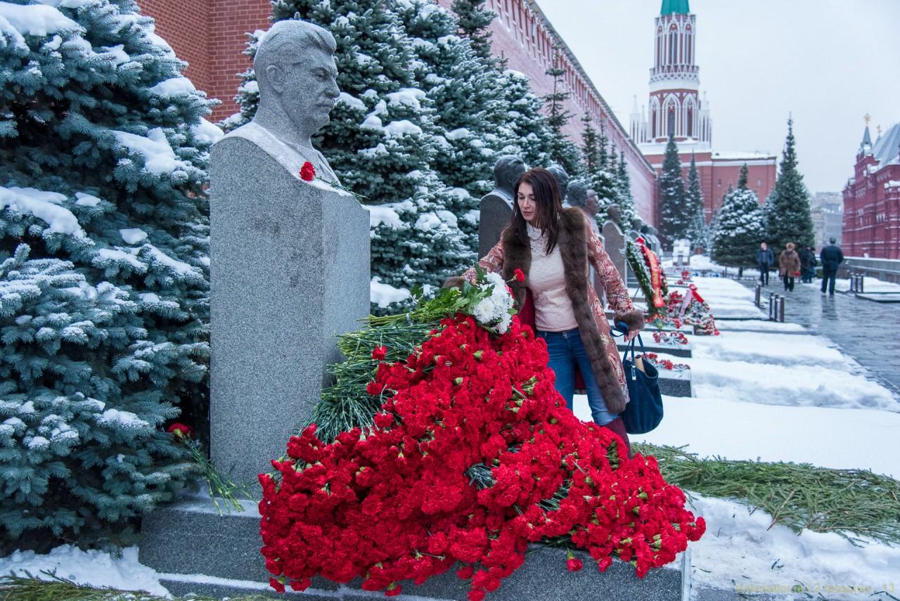 2 гвоздики для товарища Сталина. 21 декабря 2017 года