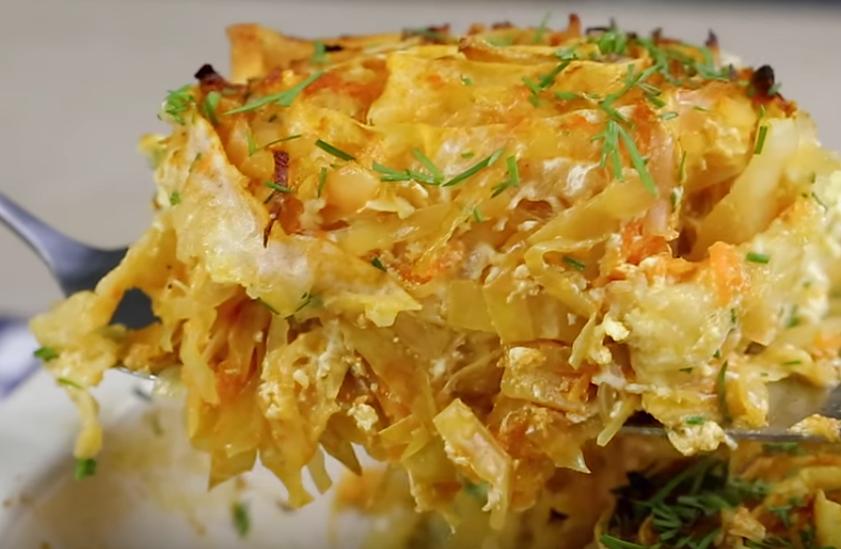 Простое и очень вкусное блюдо с капустой