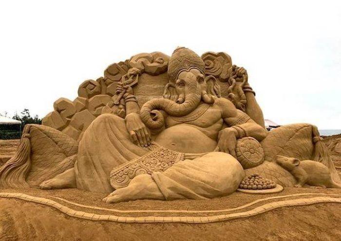 Ганеша - слон мудрости. Автор: Toshihiko Hosaka.