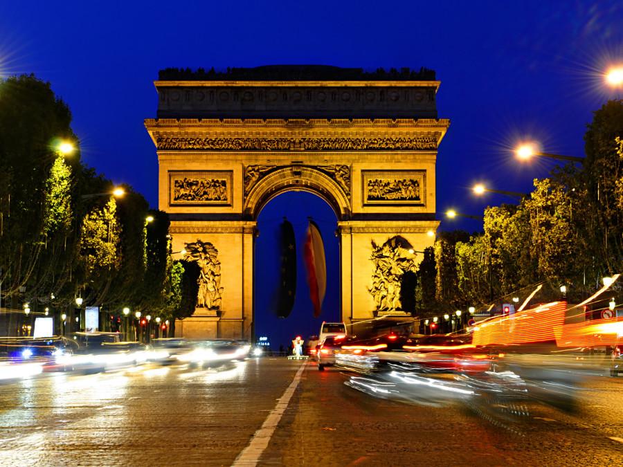 Триумфальная арка величественная гордость французской архитектуры 05 900x675 Триумфальная арка – величественная гордость французской архитектуры