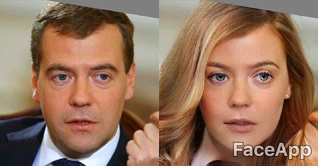 А таким бы получился Дмитрий Медведев