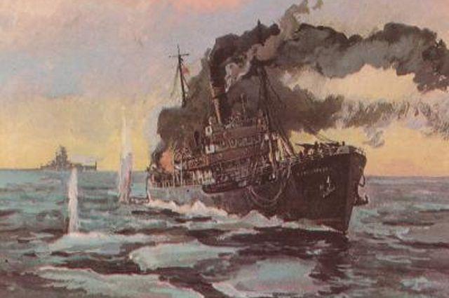 Честь «Сибирякова». История последнего боя гражданского ледокола с тяжелым немецким крейсером