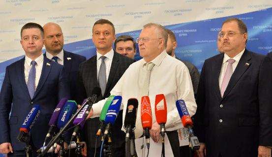 Жириновский предлагает перенести День защитника Отечества