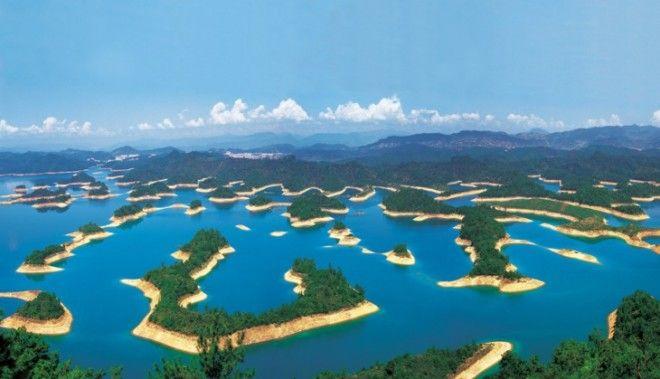 5 фактов о таинственном и прекрасном городе на дне озера в Китае
